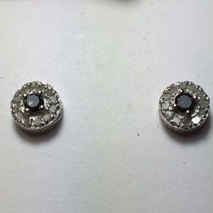 Sparkling 1/4 ct.t.w. Genuine Diamond SS